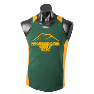 Mt Wellington Rugby Adults Singlet