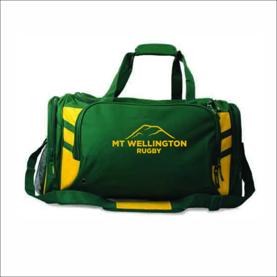 Mt Wellington Rugby Sports Bag